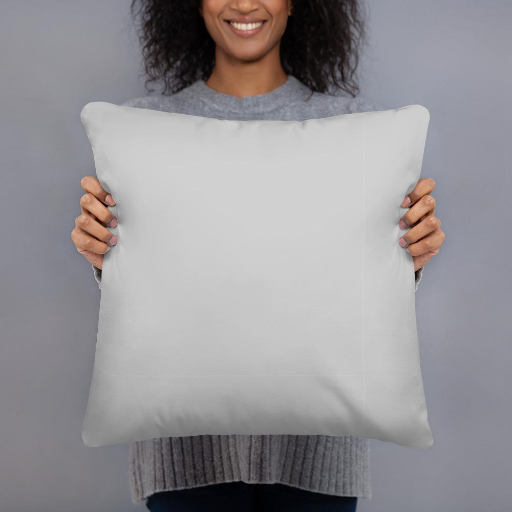 Basic Simple Grey Pillow - Basic Simple Grey Pillow - Printer Me - Fashion & Style