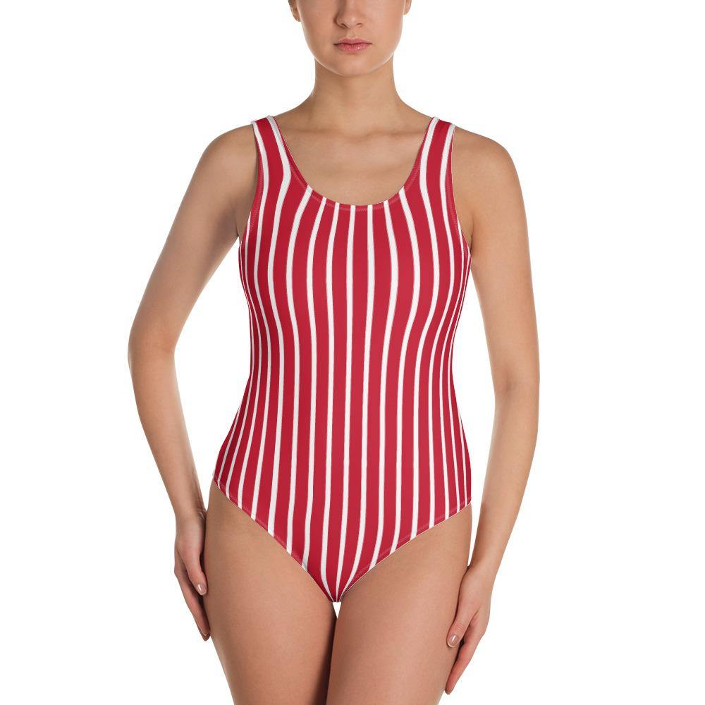 Stripes Swimsuit - Printer Me - Fashion & Style