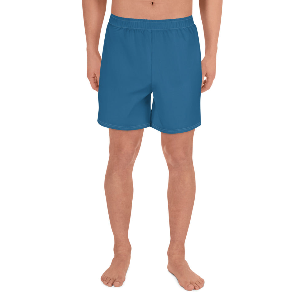 Navy Blue Men's Athletic Shorts