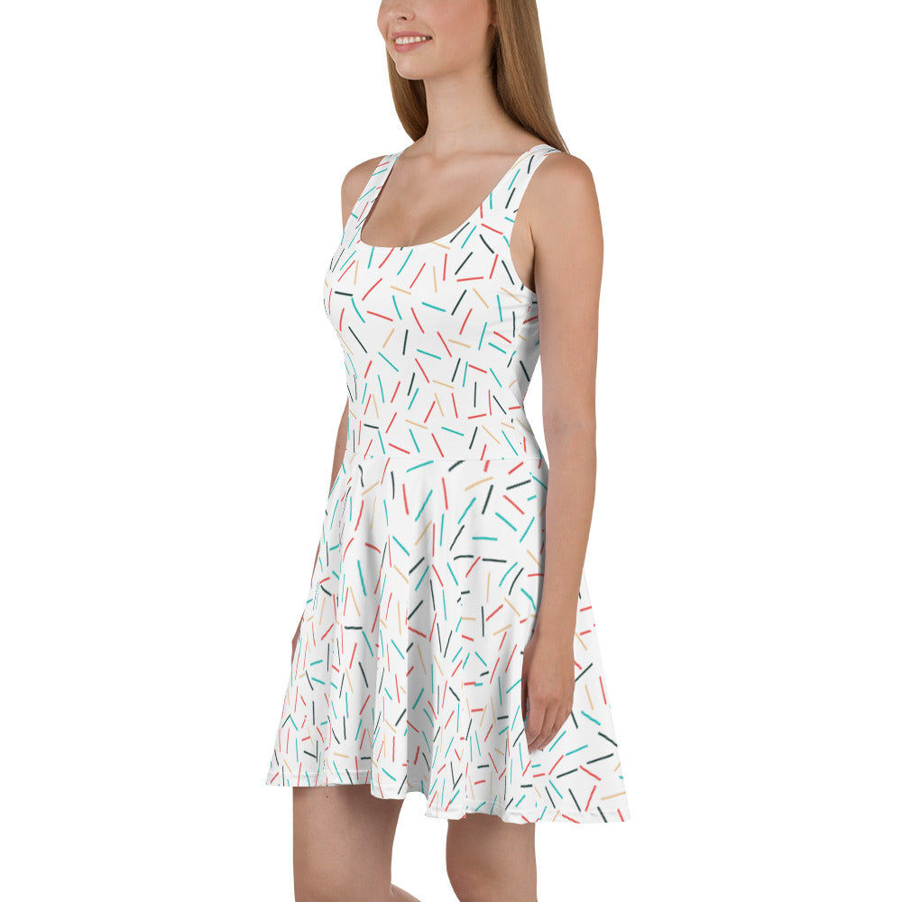 Sprinkles Skater Dress