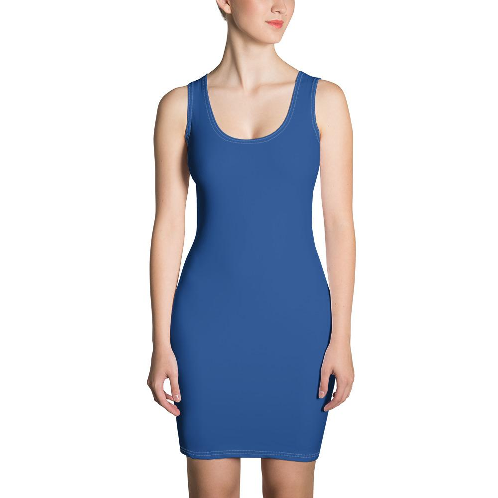 Blue Sport-Elegant Dress - Blue Sport-Elegant Dress - Printer Me - Fashion & Style