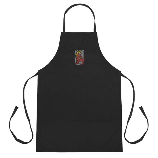 Gamer Embroidered Apron - Printer Me - Fashion & Style