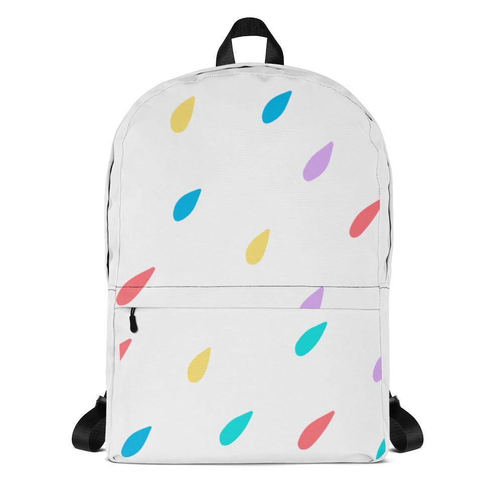 Color Drops Backpack - Printer Me - Fashion & Style