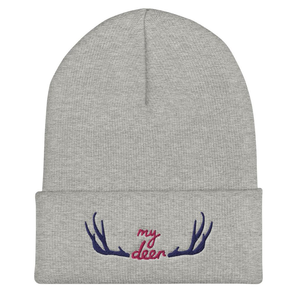 My Deer Cuffed Beanie - Printer Me - Fashion & Style
