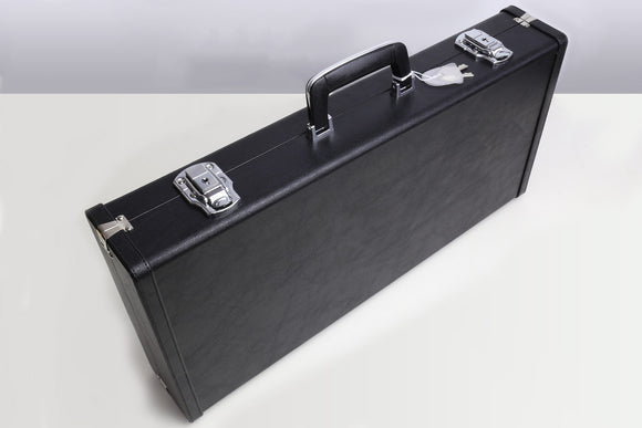 Yoshihiro Black Synthetic Leather Knife Case for Japanese Knives (8 slots)