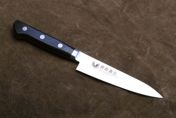 Yoshihiro Ginsan-Ko High Carbon Stain Resistant Steel Petty Utility Japanese Chef Knife 4.7