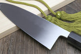 Yoshihiro Honyaki Mirror-Finished Deba Japanese Sushi Fillet Chef knife