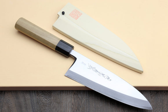 Yoshihiro Hongasumi Blue Steel Deba fish fillet Chef knife