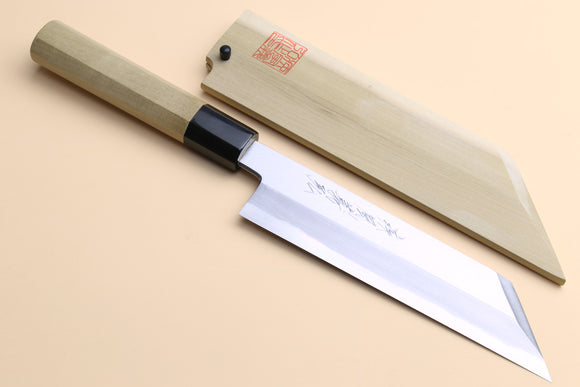 Yoshihiro Kasumi White Steel Kenmuki Vegetable Japanese Chef Knife