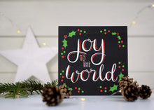 Load image into Gallery viewer, Joy to the world card
