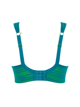 Load image into Gallery viewer, Panache | Wired Sports Bra | Teal / Lime