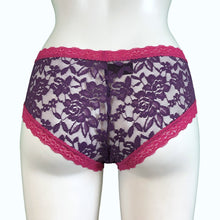 Load image into Gallery viewer, Kinky Knickers | Classic Lace | Raspberry
