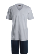 Load image into Gallery viewer, Hanro | Night & Day Men's Short Cotton Pyjamas