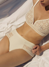 Load image into Gallery viewer, Maison Lejaby | Daphne Lace Tanga Brief | Beige