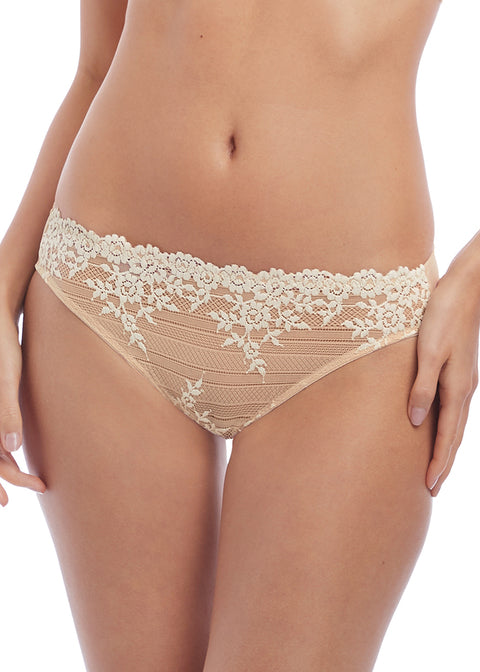 Wacoal | Embrace Lace Brief | Naturally Nude