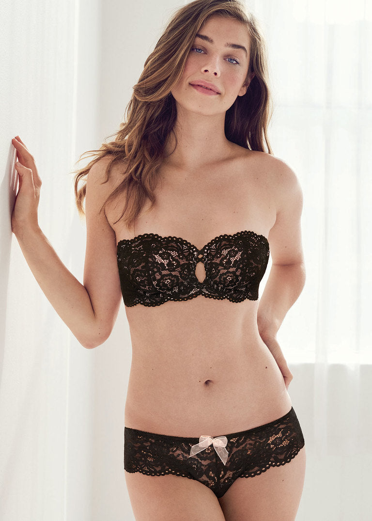 b.tempt'd | Ciao Bella Strapless Bra | Black