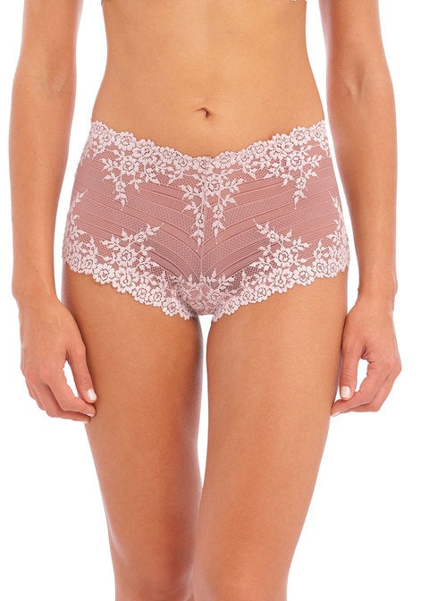 Wacoal | Embrace Lace Short | Woodrose