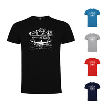 Load image into Gallery viewer, Adventure Awaits Open Water/Ice Swimming Men`s T-shirt