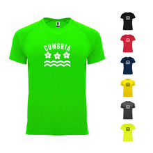 Load image into Gallery viewer, Cumbria County Technical Running Mens T-shirt