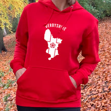 Load image into Gallery viewer, Derbyshire County Unisex Hoodie