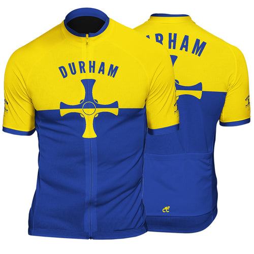 Durham County Mens Short Sleeve Cycling Jersey
