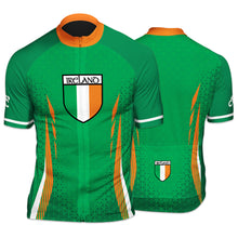 Load image into Gallery viewer, Ireland Countries Mens  Short Sleeve Cycling Jersey