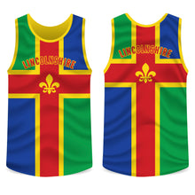 Load image into Gallery viewer, Lincolnshire County Running Vest Mens/Unisex
