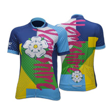 Load image into Gallery viewer, Yorkshire Funk Ladies Cycling Jersey
