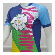 Load image into Gallery viewer, Yorkshire Funk Ladies Short Sleeve Cycling Jersey