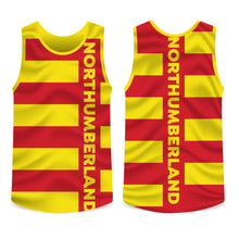 Load image into Gallery viewer, Northumberland County Running Vest Mens/Unisex