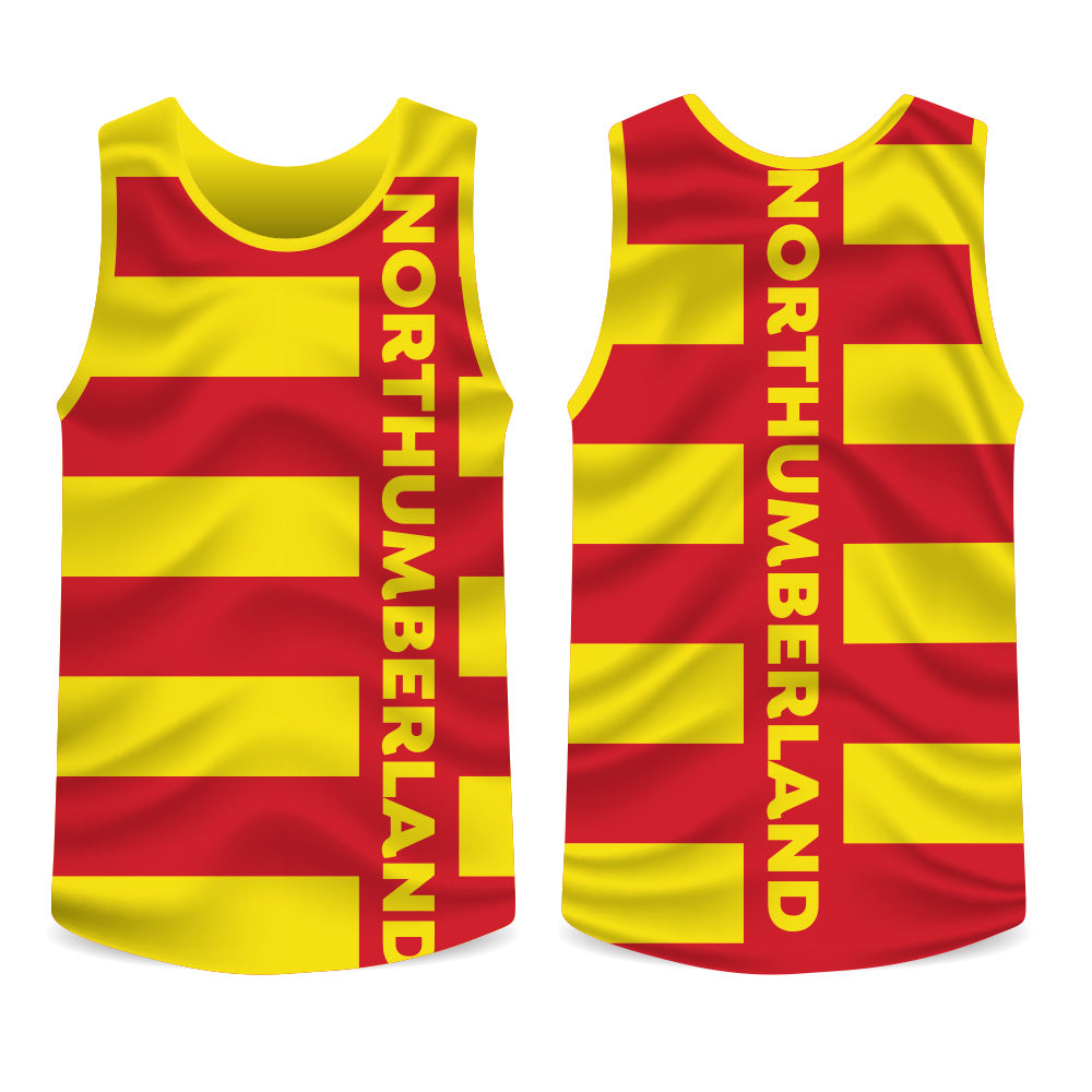 Northumberland County Running Vest Mens/Unisex
