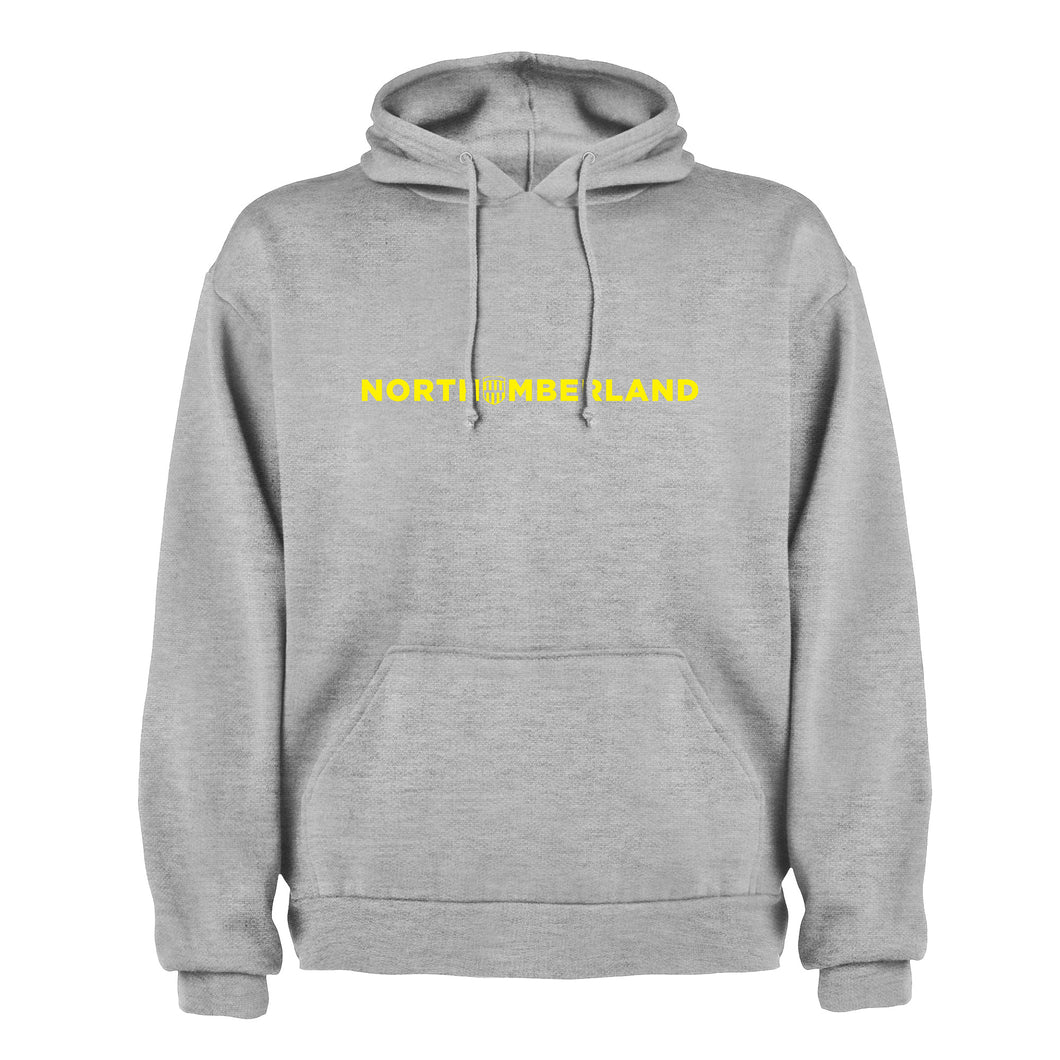 Northumberland County Text (Yellow) Unisex Hoodie