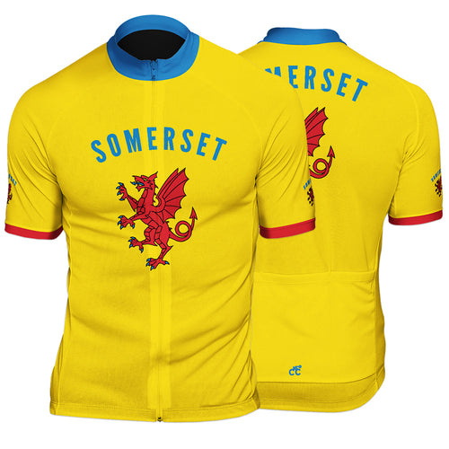 Somerset County Mens Short Sleeve Cycling Jersey