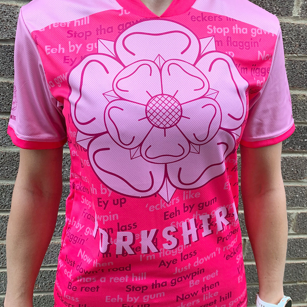 Yorkshire Dialect Womens Running T-shirt