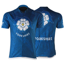 Load image into Gallery viewer, New Map of Yorkshire Mens Short Sleeve Cycling Jersey