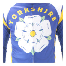 Load image into Gallery viewer, Yorkshire Rose Mens Long Sleeve Cycling Jersey