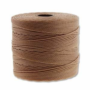 Light Copper Fine Super-Lon - 118 Yard Spool (Tex135)