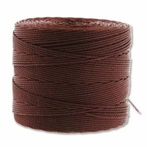 Brown Fine Super-Lon - 118 Yard Spool (Tex135)