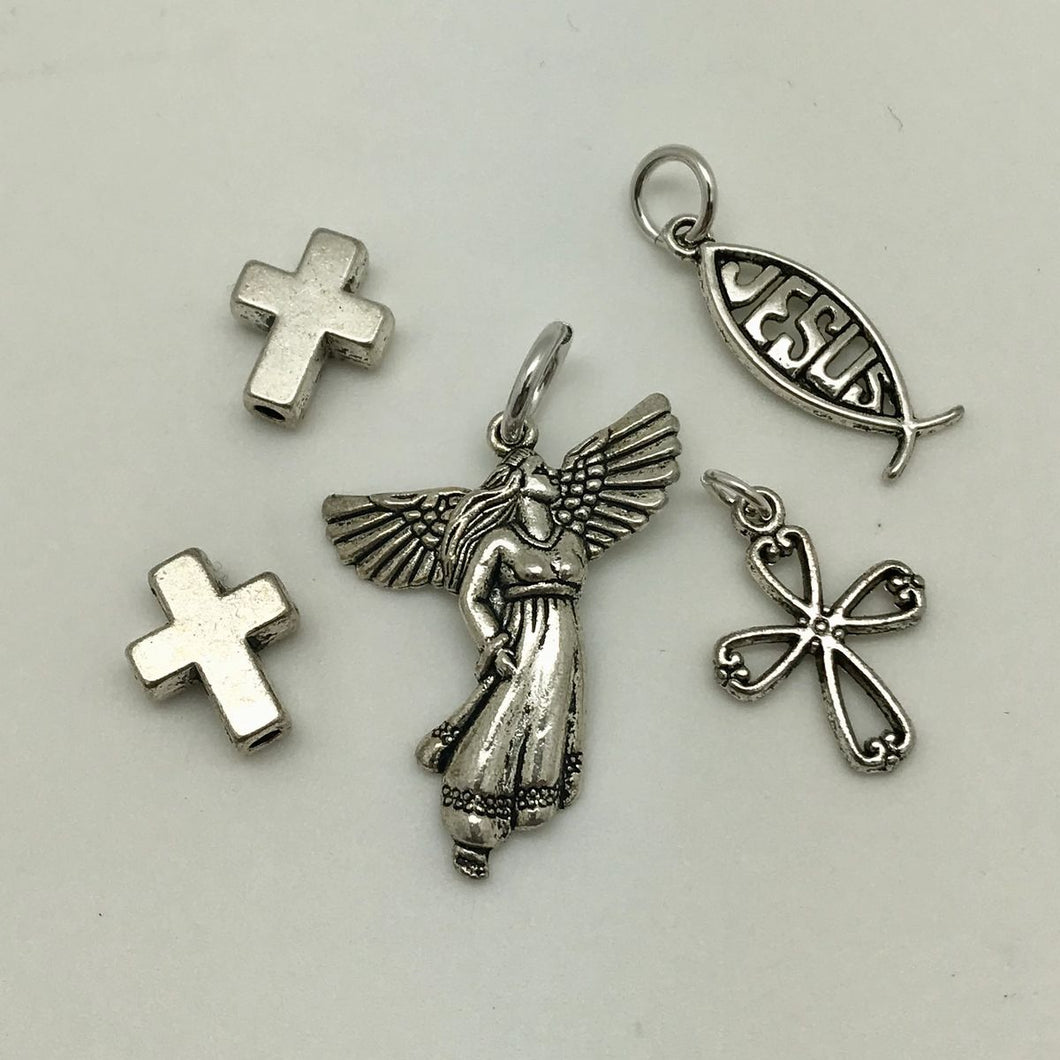 Faith - Charm & Bead Pack