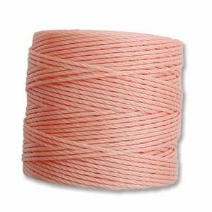 Coral Pink Regular Super-Lon - 77 Yard Spool (Tex210)