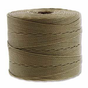 Khaki Fine Super-Lon - 118 Yard Spool (Tex135)