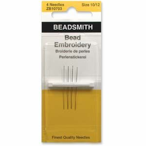 Size 10/12 Bead Embroidery Needles