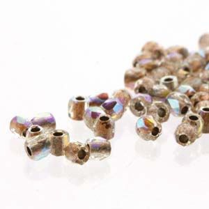 AB Copper Lined Crystal True 2 mm Fire Polish 100 pc.