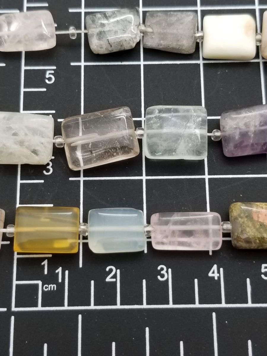 Assorted Stone Rectangle Mix