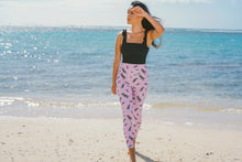 Load image into Gallery viewer, Pink Pineapple Leggings