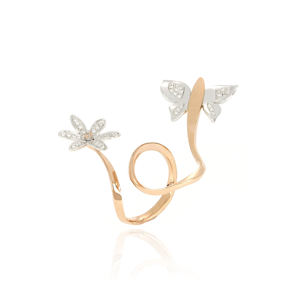 Video Anello 3 Chic Fiore & Farfalla