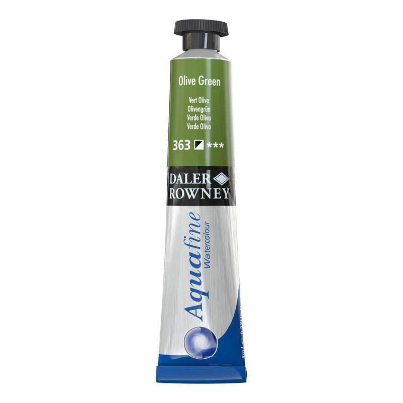 AQUARELLE AQUAFINE OLIVE GREEN 363 8ML