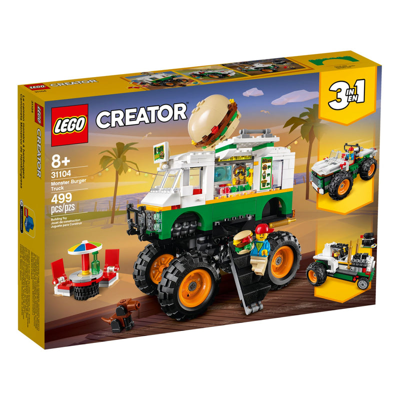 CREATOR 31104 MONSTER BURGER TRUCK