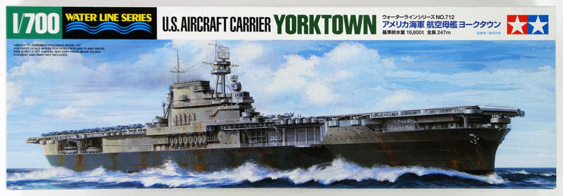 U.S. AIRCRAFT CARRIER YORKTOWN
