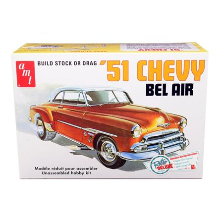 BEL AIR 51 CHEVY AMT RETRO DELUXE